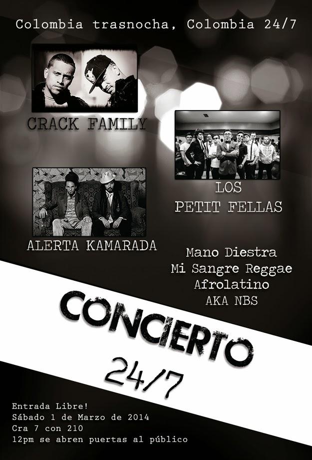 Alerta-Kamarada-Los-Petit-Felas-La-Crack-Family-concierto-2014