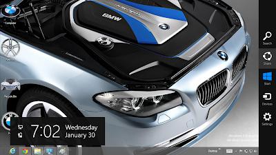BMW Hybrid i8 2013 Theme For Windows 8