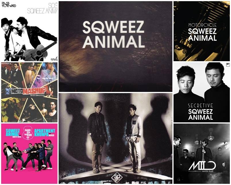 Download [Mp3]-[All Hit Music] รวมผลงานทุกชิ้น album และ Single + เพลงพิเศษครบทุกเพลง Sqweez Animal  Discography (2015) 4shared By Pleng-mun.com