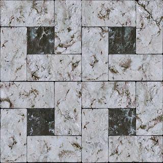 Marble tile light & dark pattern texture 1024px