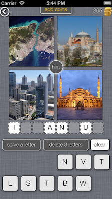 4 Pics 1 Place, para iphone