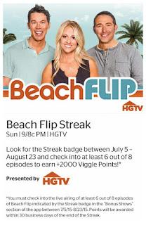 Beach Flip, Viggle, Viggle Mom, Viggle Streak, Viggle Bonus, HGTV
