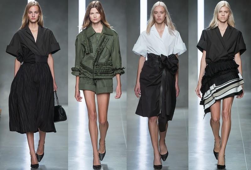 (ph/Style.com) Bottega Veneta spring 2014