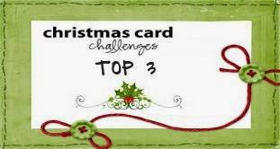 Top 3 bei Christmas Card Challenges