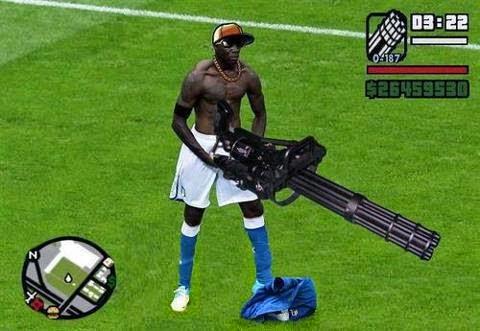 Mario Balotelli Terorois GTA