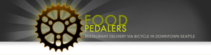 Food Pedalers Bicycle Food Delivery Seattle