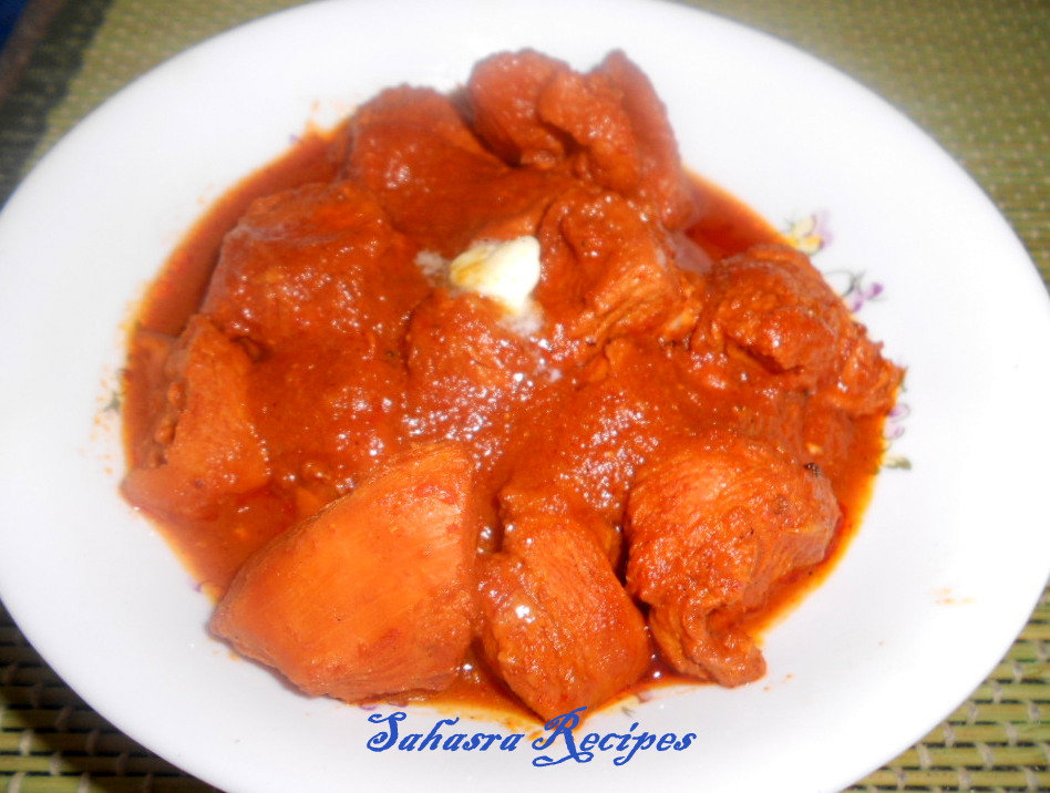 how to make butter chicken masala powder at home