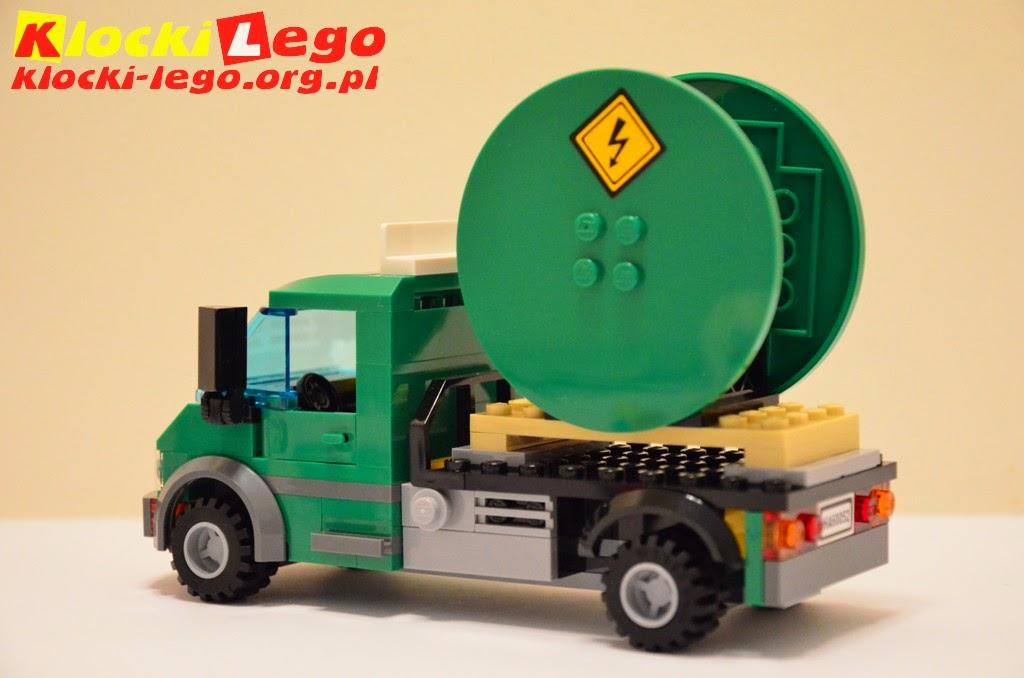 Klocki Lego 60052 Pociąg Towarowy