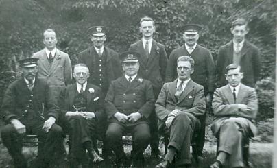 Gosport station staff pre war