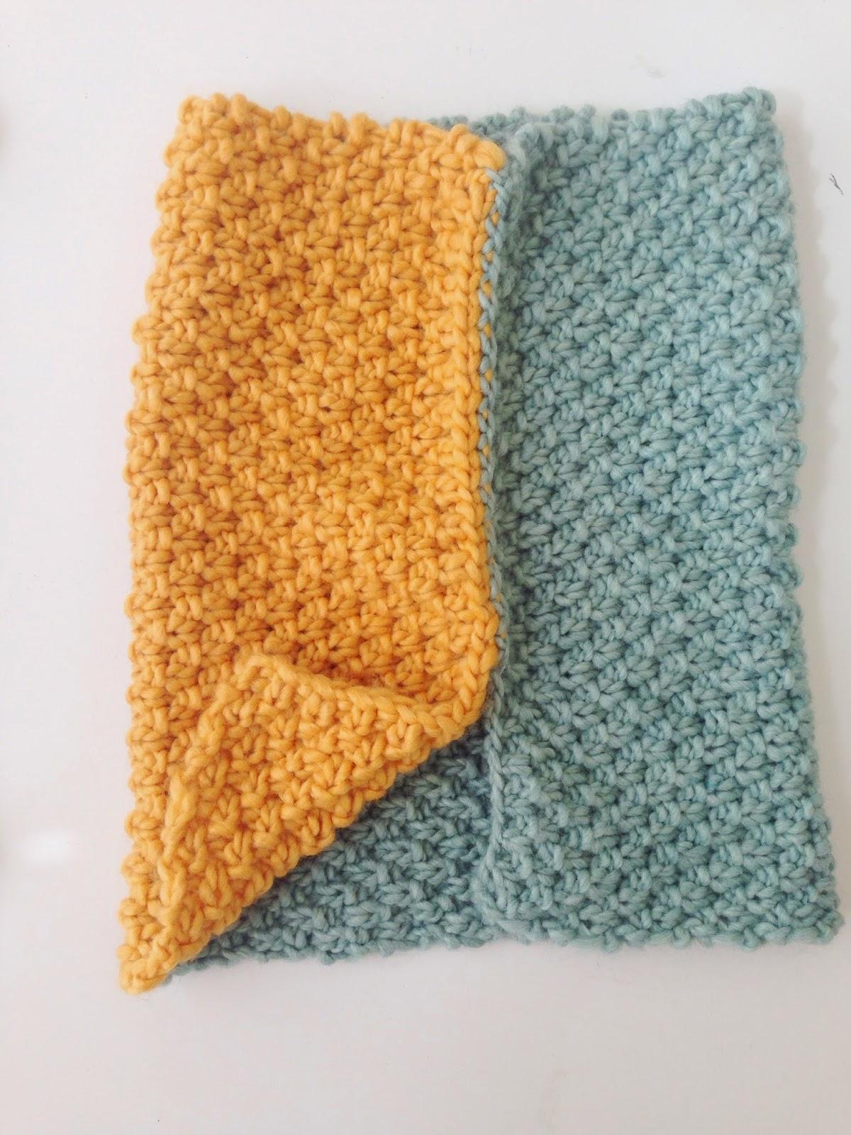 Love City: knitting love {Irish Moss Stitch Cowl}
