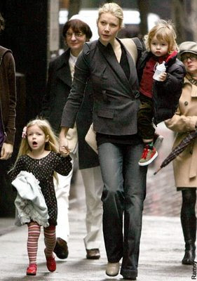 Gwyneth Paltrow with children