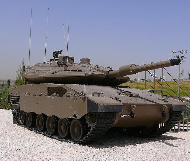 Heavy Tank Merkava Mk4 Israel