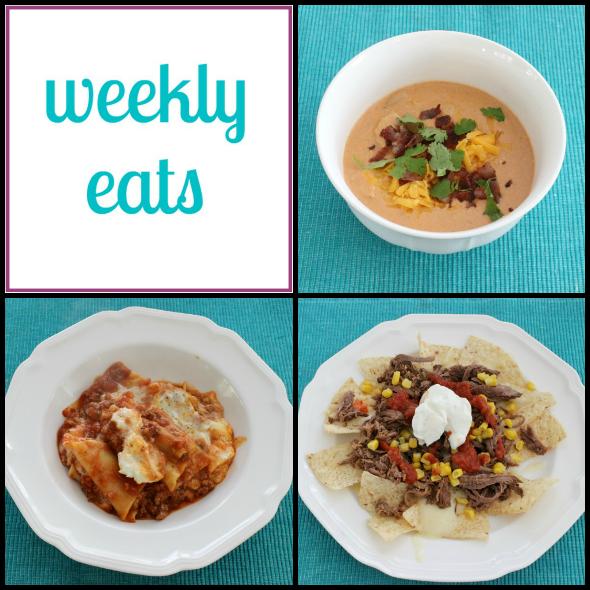 Weekly Eats: Easy Meals Menu | www.shealennon.com
