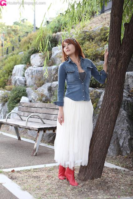 11 Jang Jung Eun - Outdoor-very cute asian girl-girlcute4u.blogspot.com