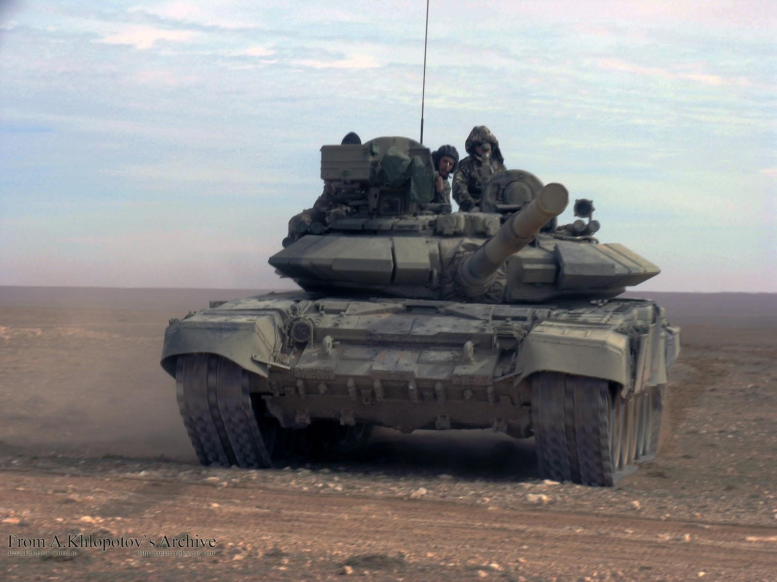 Fuerzas Armadas de Argelia Algerian+T-90SA