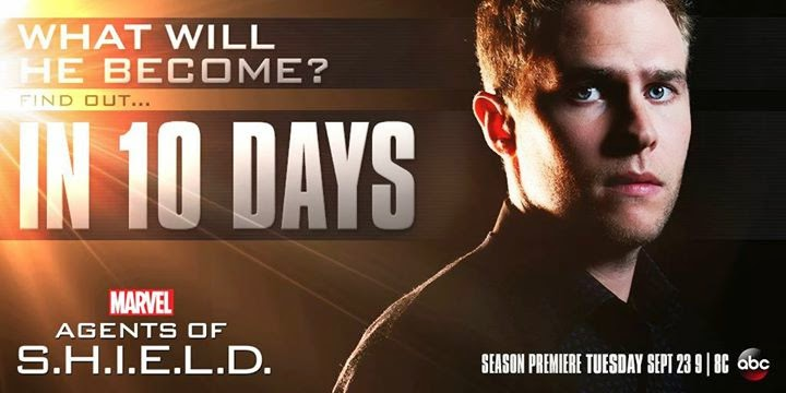 Agents of SHIELD - Season 2 - New countdown poster