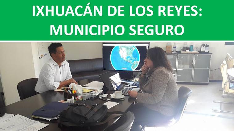 IXHUACÁN DE LOS REYES: MUNICIPIO SEGURO