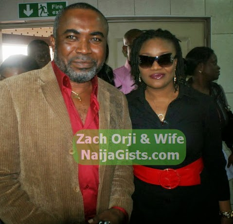zach orji wife