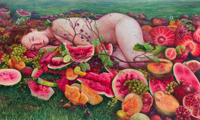 Pinturas de Alonsa Guevara: Desire