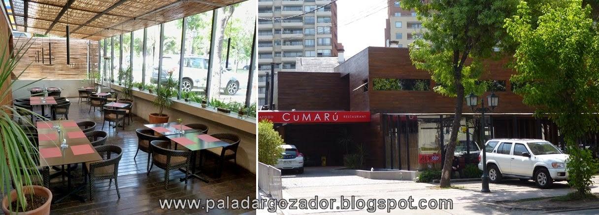 restaurant cumaru terraza exterior