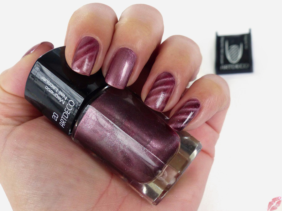 nails artdeco magnetic nail lacquer 20 cranberry juice. Black Bedroom Furniture Sets. Home Design Ideas