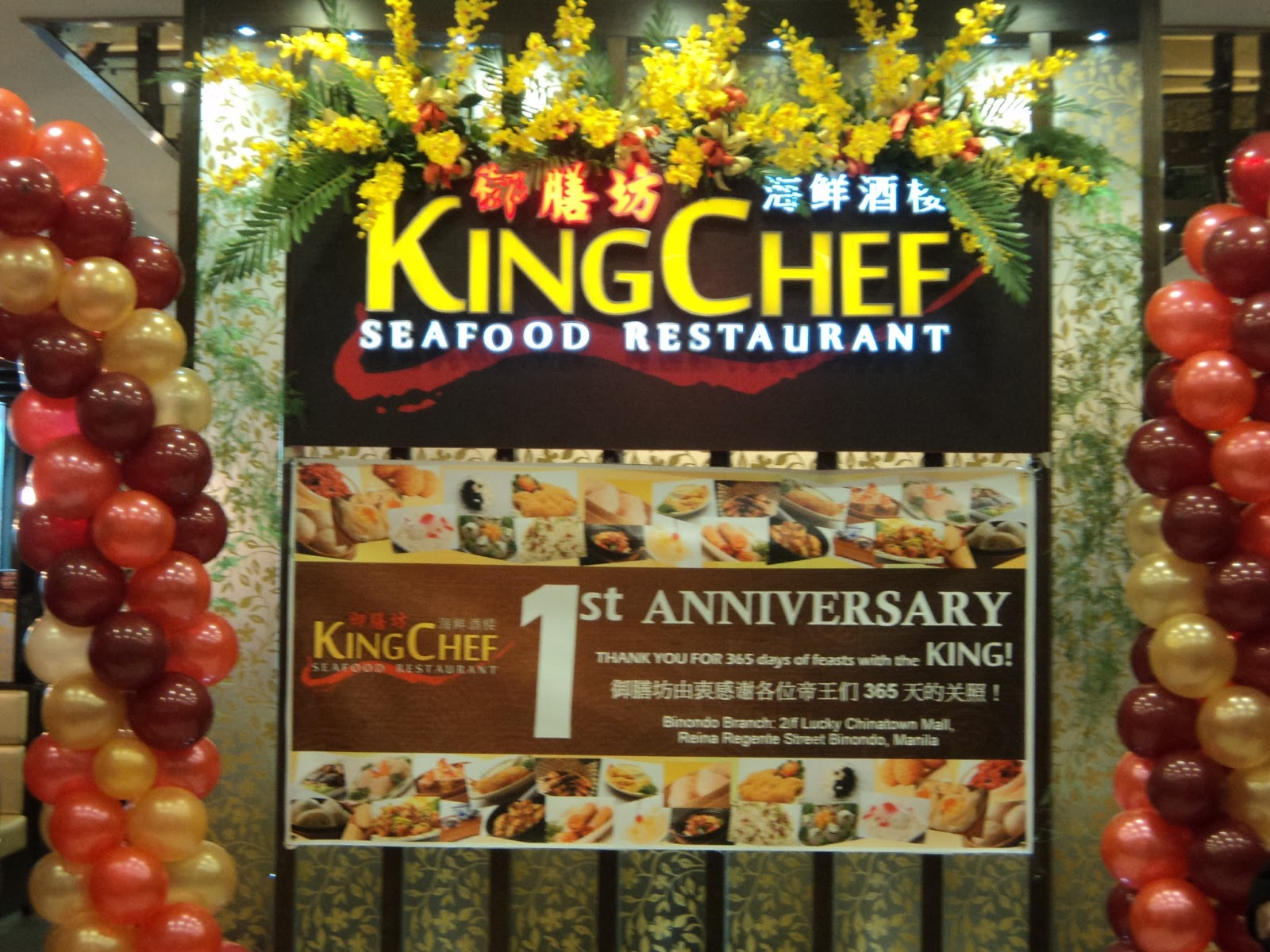 Witty Momsie Anniversary Special Of King Chef Seafood