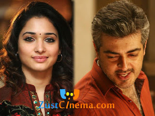 Ajith-Tamanna 's film songs shoot in Europe