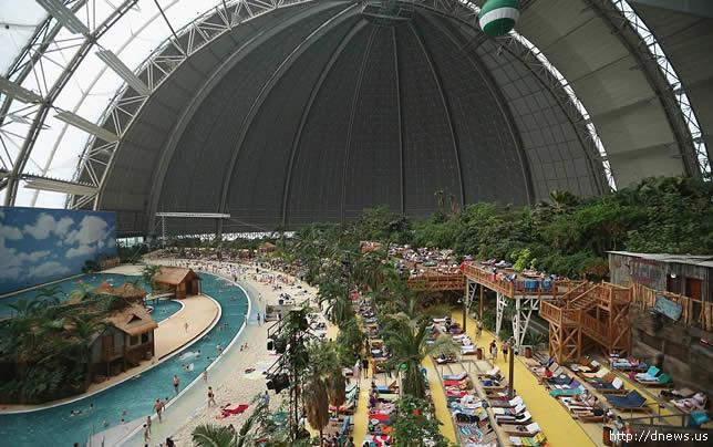 Resort Tropical Artificial. Krausnick. Alemanha