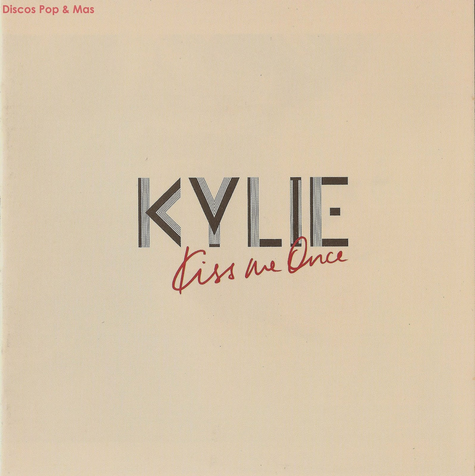Kylie Minogue Kiss Me Once Deluxe Discos Pop & Mas: ...