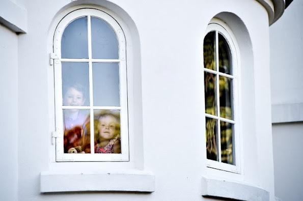 Prince Joachim, Princess Marie and Princess Athena and Prince Henrik