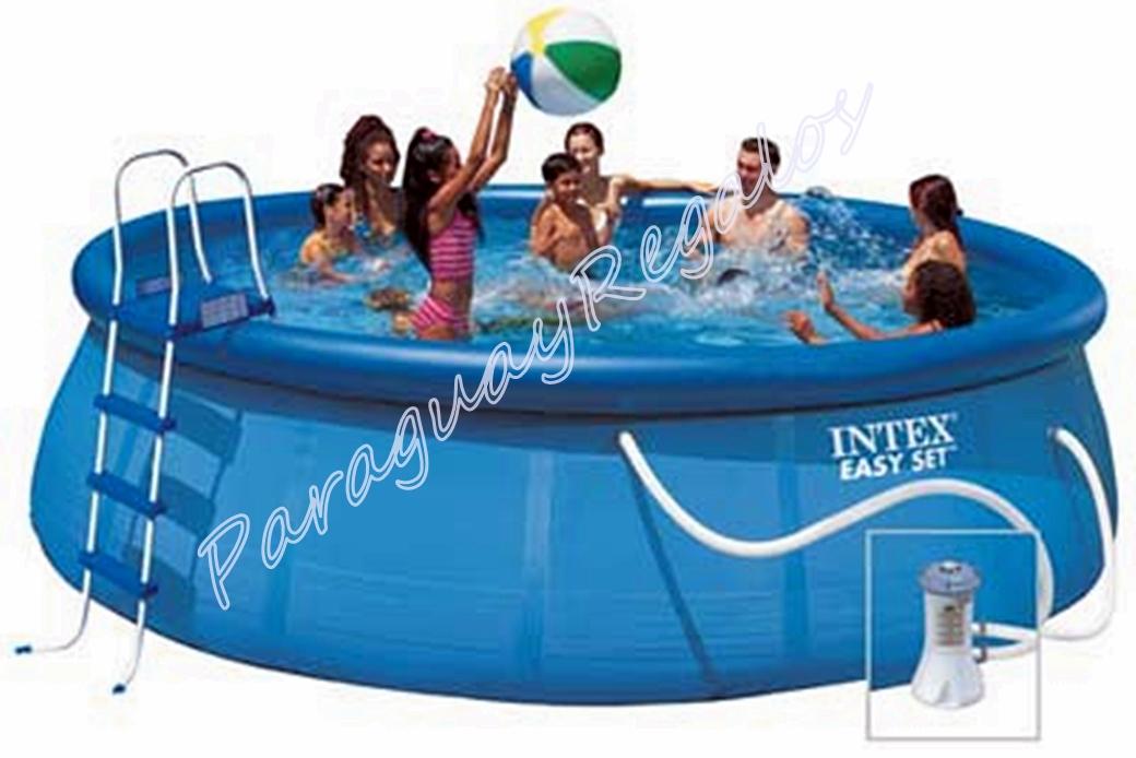 Paraguay regalos piscinas for Cubre piscinas intex
