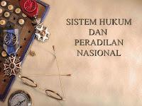 Sistem hukum Nasional adalah