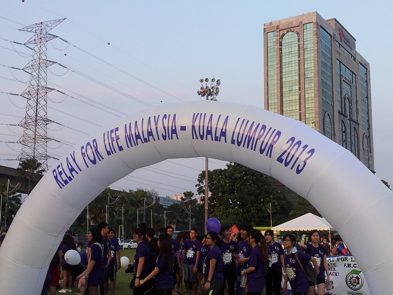 Event: Relay For Life - KL 2013