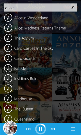 Find My Music Too | Alternatif Pemutar Musik Windows Phone
