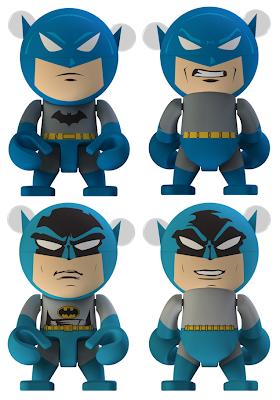Batman Trexi Vinyl Figure Series by Play Imaginative - Urban Legend & DC Originals