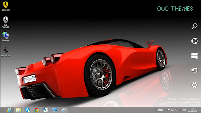 Ferrari Enzo F70 Theme For Windows 7 And 8