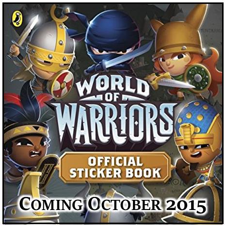 World of Warriors Official Sticker Book