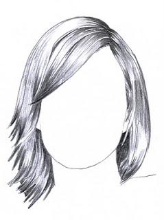 La prima cosa che dovrai fare sarà quella di delineare il volto con ...  Drawing Hair For Beginners