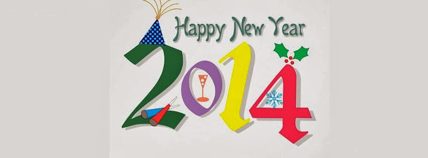 Happy New Year 2014 Cover Facebook - 4