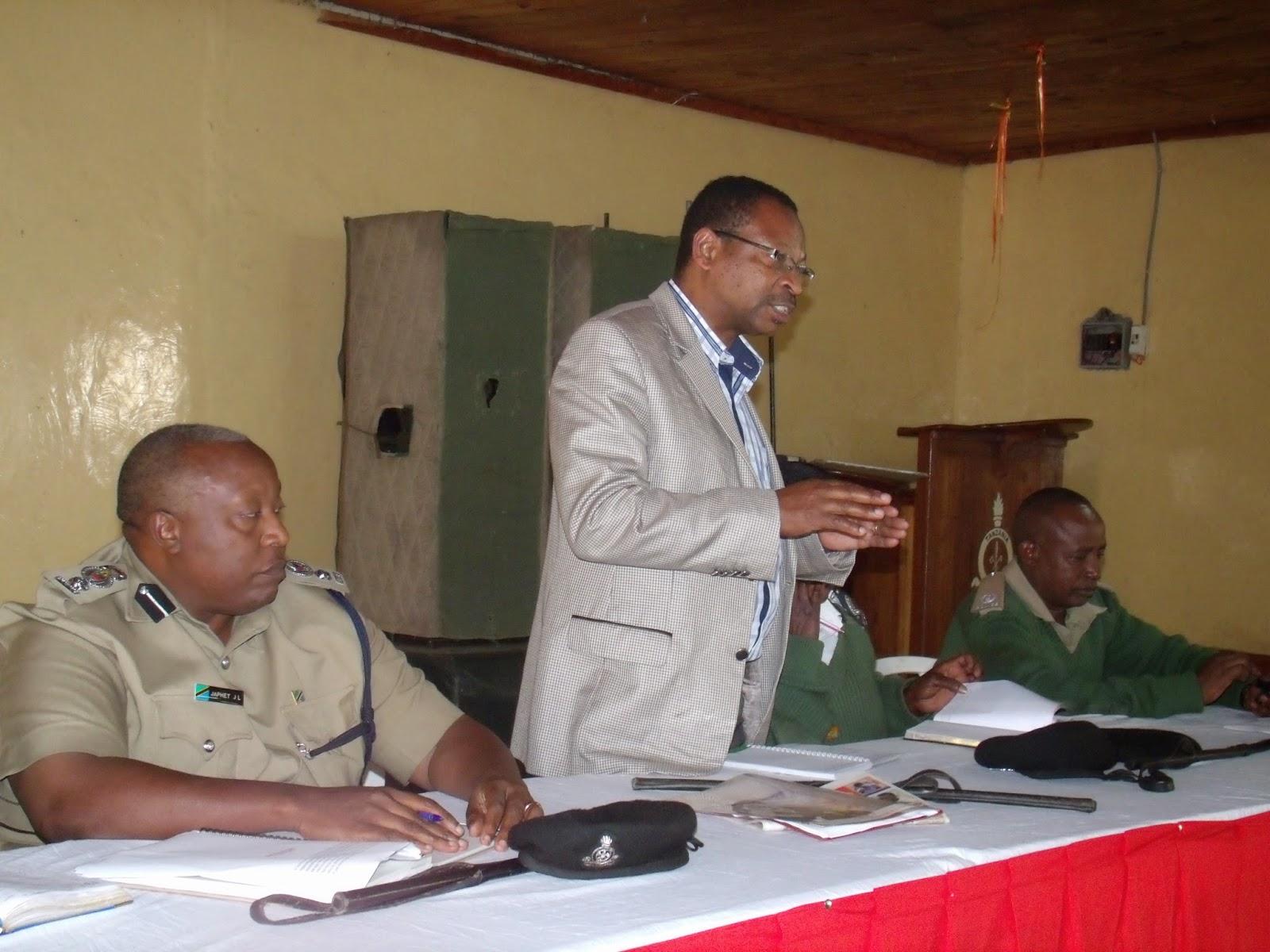 viongozi wa Jeshi la Polisi na Wadau wa Polisi Jamii Mkoa wa Arusha