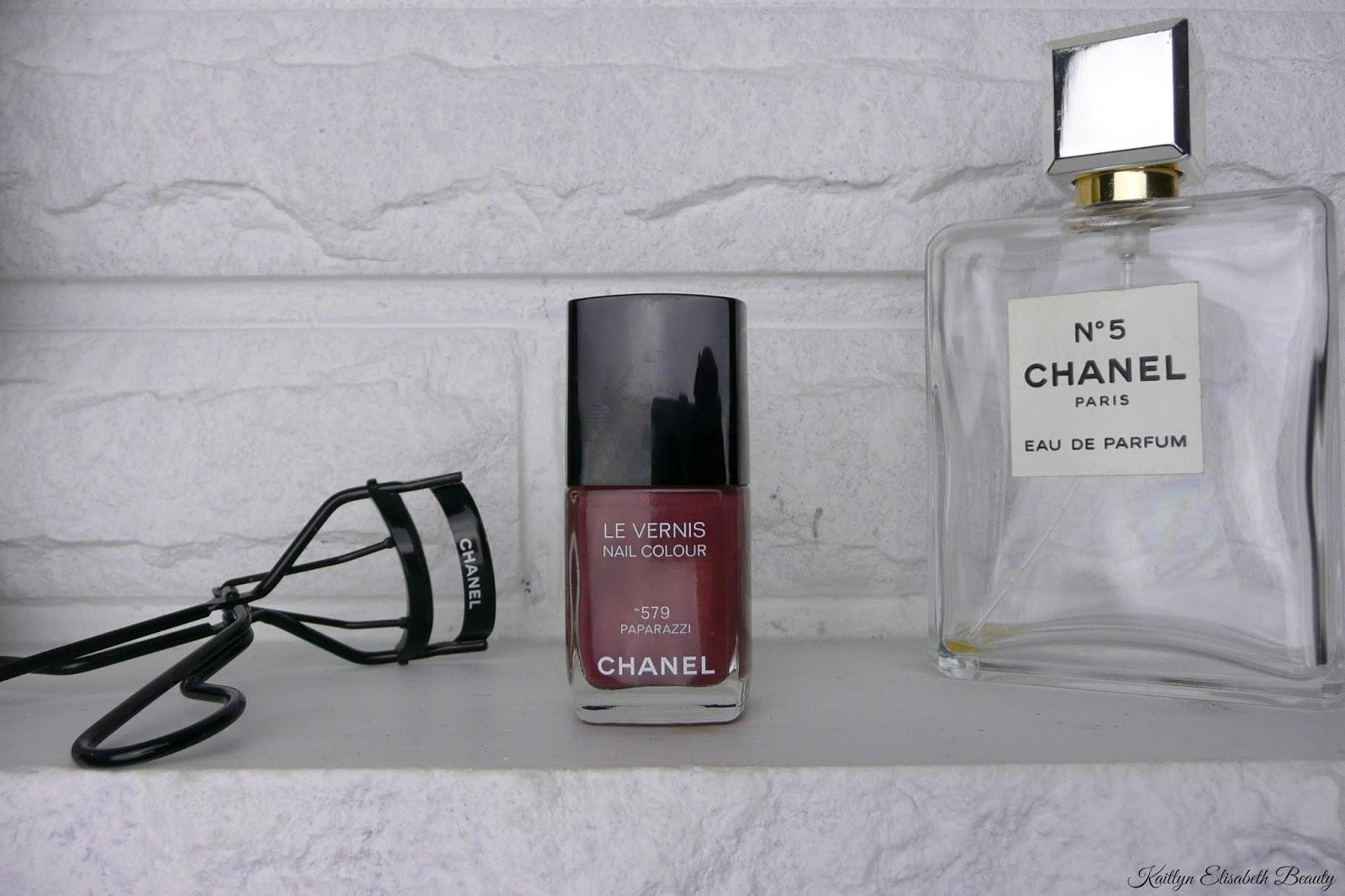 Mani Monday: Chanel Paparazzi   Kaitlyn Elisabeth Beauty