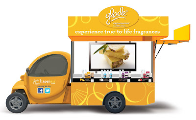Glade Happiair truck