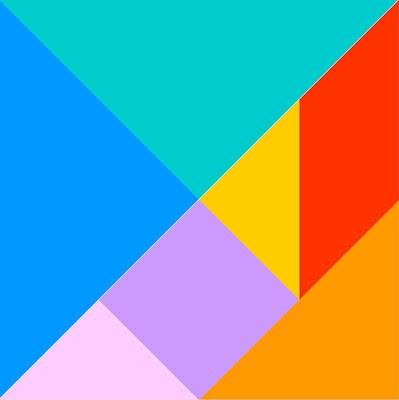 tangram realizzato con geogebra