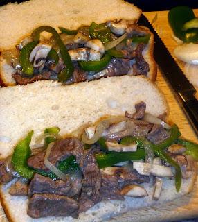 Budget Friendly Cheese Steak Sandwiches
