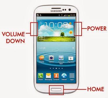 cara mengambil screenshoot pada Android