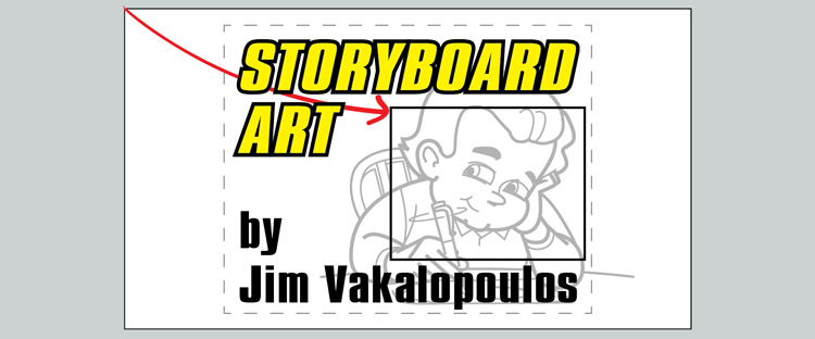Storyboard Art by Jim Vakalopoulos