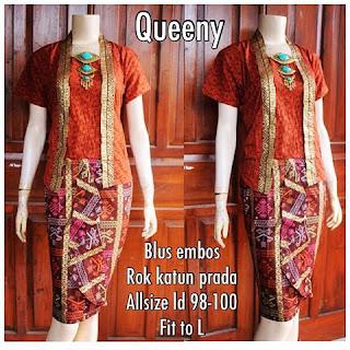 Kebaya Batik Quenny KBW 293