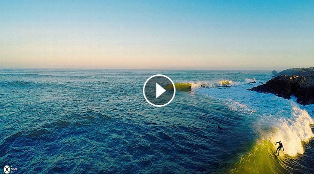 Surf Daybreak Cantabria - Drone 4K