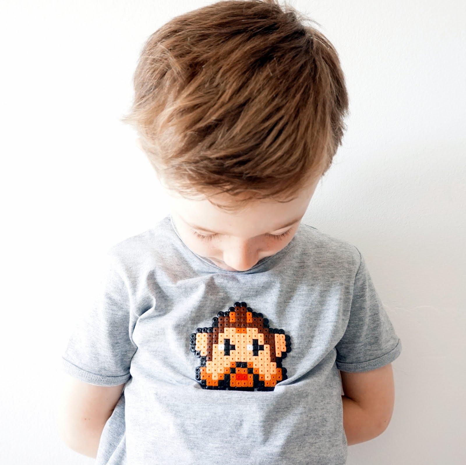 Star Wars T-shirt met strijkkralen