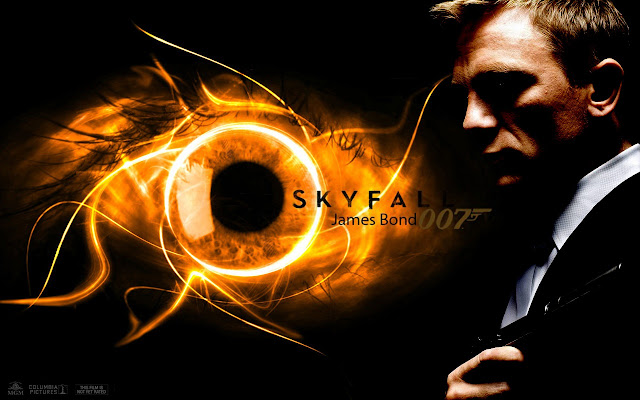Skyfall PowerPoint background 09